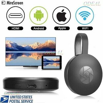 Miracast 1080P 2nd Generation Digital HDMI Media Video Streamer For iOS Android