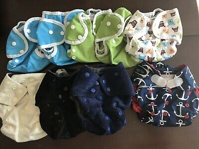 Cloth Diaper Lot - Assorted, Thirsties, Happy Endings