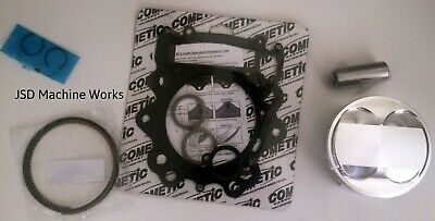Yamaha Raptor 700 102mm Stock OEM Bore 11:1 CP Piston Cometic Top End Gaskets