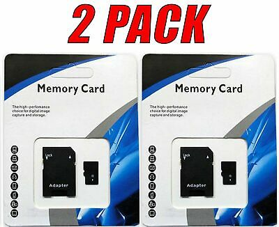 2 Pack 1TB (1024GB) Universal Micro SD SDHC SDXC TF Flash Class 10 Memory Cards
