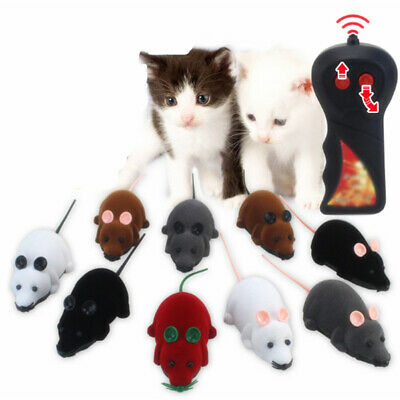 1PC Cat Dog Pet Toy Funny Remote Control RC Rat Mouse Wireless Novelty Gift