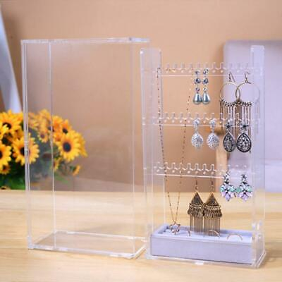 Multi-function Jewelry Necklace Ring Bracelet Box Cabinet Organizer Case Storage
