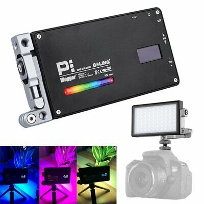 Boling BL-P1 RGB Pocket LED Video Light 2500-8500K For Studio DSLR Camera Light