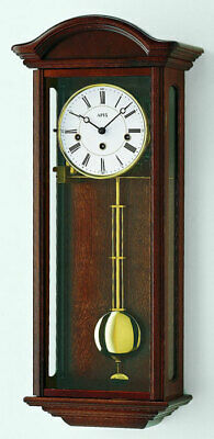 AMS 2606/1 - Wall Clock - Walnut - Pendulum Clock - Regulator Clock - New