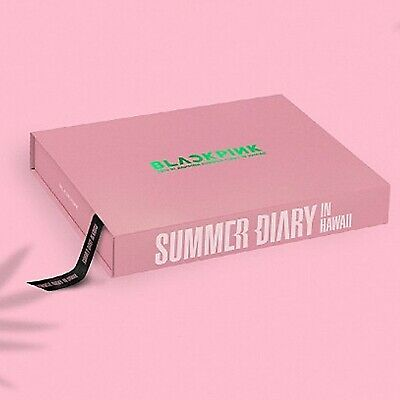 BLACKPINK'S 2019 SUMMER DIARY IN HAWAII P.Book+DVD+Card+Sticker+Pouch+Poster etc