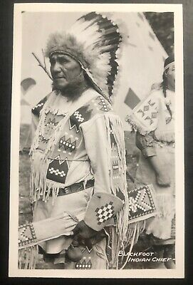 CH-467 BLACKFOOT INDIAN Dances Native American Chrome