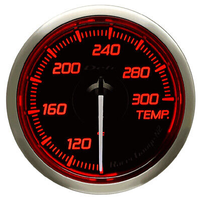 Defi 52Mm Racer Oil Temp Gauge N2 Red