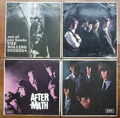 ROLLING STONES EARLY album discography magnet (4 5