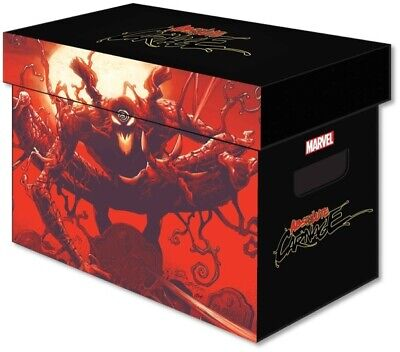 Marvel Absolute Carnage Short Cardboard Comic Book Storage Box lot of 5