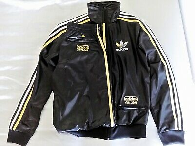 outlet store sale where can i buy finest selection ADIDAS TRAININGSANZUG CHILE 62 XS schwarz-gold-silber - EUR ...