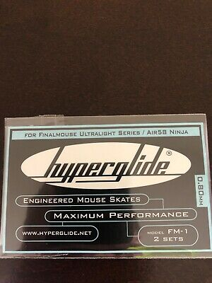HYPERGLIDE FOR FINALMOUSE Model FM-1: 2 Sets (IN HAND AND