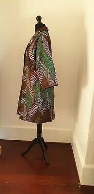 Beautiful Women African Ankara Print Kimono Jacket  Cotton Handmade