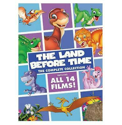 The Land Before Time:The Complete Collection 8 DVD discs All 14 films New Sealed