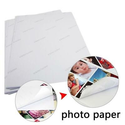 A4 A6 White Glossy Self Adhesive Sticker Photographic Photo Printer Paper