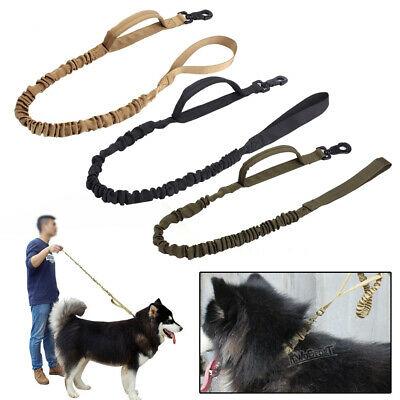 Dog Leash Police Military Tactical Training Heavy Duty Bungee Canine K9 Dog Rope