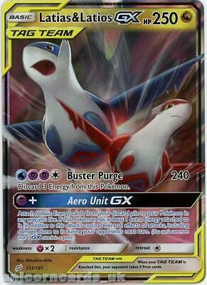 Latias & Latios Tag Team GX 113/181 Ultra-Rare Rare :: Team Up :: Mint Pokemon C