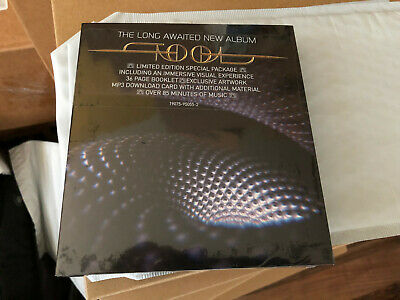 IN HAND * TOOL Fear Inoculum Limited Special Deluxe Edition CD The Long Waited