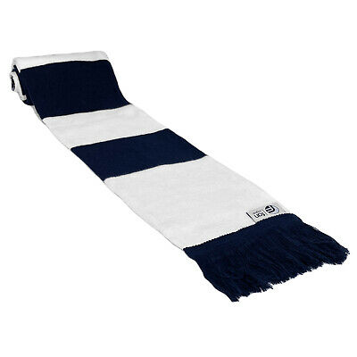 fan originals Retro Football Bar Scarf in Tottenham Hotspur Colours Navy White