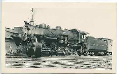K376 Rppc 1929  Dl&W Lackawanna Railroad Train Engine #203 Scranton Pa