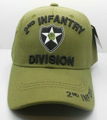 2ND INFANTRY DIVISION Hat Patch Id Us Army Veteran Gift Pin