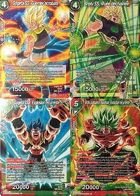 EX04 Unity of Saiyans : carte au choix | Dragon Ball Super Card Game DBS GE03 FR