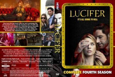 Lucifer Serie Completa Stagione 1 2 3 4 Originale In Italiano Dvd