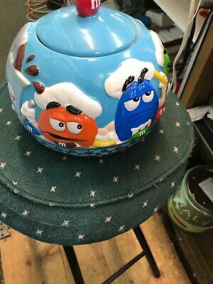 Collectable M&M's Porcelain Cookie/candy Jar