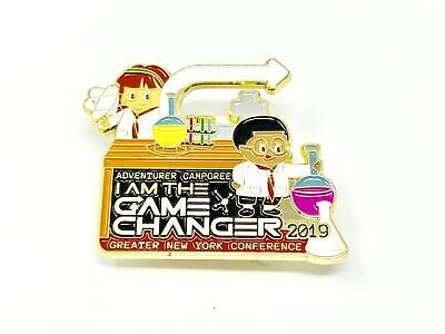 GNYC I Am The Game Changer 2019 Adventure Camporee Pin