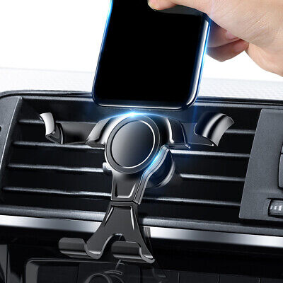 Gravity Air Vent Mount Car Phone Holder for Mobile Cell Phone GPS Stand Bracket