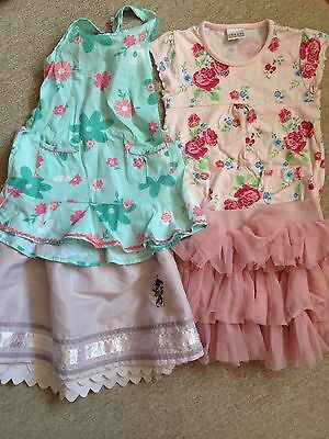 4 X NEXT Tutu Skirts Tops 3-4 Year Old Girls Party Summer Holiday Outfits