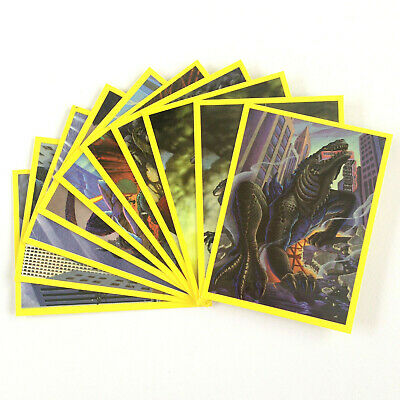 "1998 Maggi 2 Minute Noodles ""GODZILLA"" SET OF 10 CARDS"