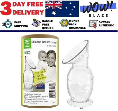 Haakaa Silicone Breast Pump 150ml - 100% Food Grade Silicone Free 3 day delivery