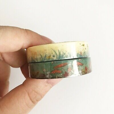 NIP Simply Gilded Washi Tape Pigeon Paper Summer Meadows & Autumn Forest (10mm)