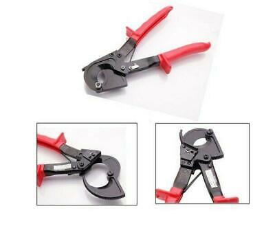 Portable Ratchet Cable Cutter Wire Line Cutting Hand Tool Cut Red US