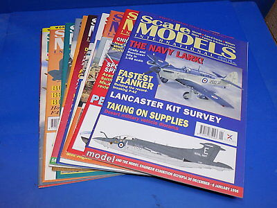 Scale Models International Magazine 1990 - 1996 Select From Back Issues