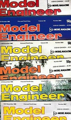 Various Issues of MODEL ENGINEER Magazine from January 1980 to December 1983