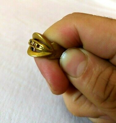 Ancient Ring Roman Bronze Artifact Legionary  Very Old Stunning  Extremely Rare