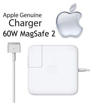 NEW Apple 60W MagSafe 2 Power Adapter Charger for MacBook Pro Retina (MD565LL/A)