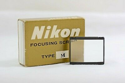 Nikon F F2 Camera Focusing Screen Type M (Mint)
