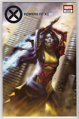 POWERS OF X #1 Lucio Parrillo Rasputin IV Exclusive VARIANT 1st Appearance NM+🔥