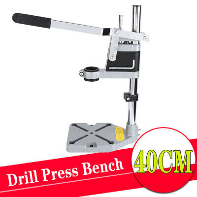 Hand Electric Drill Press Bench Stand/Holder/Workbench Pillar Clamp Drilling UK