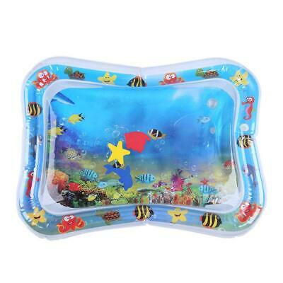 """26×20"""" Baby Kids Water Play Mat Inflatable Infants Tummy Time Playmat Toy Game"""