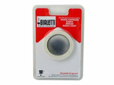 Bialetti Replacement Gaskets and Filter Set, 6 Cup
