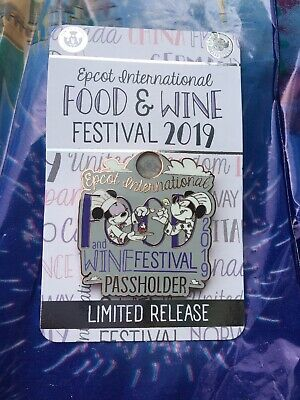 EPCOT Food And Wine Festival 2019 AP Annual Passholder Disney World Pin Limited