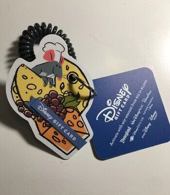 EPCOT Food And Wine Remy Festival 2019 Gift Card. Zero Value. Disney World WDW