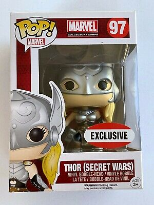 Lady Thor Funko Pop! 97 Marvel Collector Corps Jane Foster Bobble-Head Figure