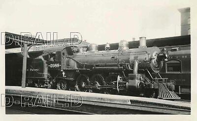 9E291 Rp 1929 Northern Pacific Railroad 2-6-2  Loco #2088 St Paul Mn