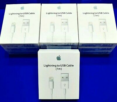 Genuine Original OEM Apple Lightning USB Charger Cable Cord iPhone X 8 7 6 Plus