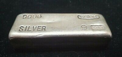 BGB - Silver Vintage Dulux Bullion Bar 9 Oz Highly Collectable Hard To Find
