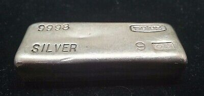 GCGB - Silver Vintage Dulux Bullion Bar 9 Oz Highly Collectable Hard To Find